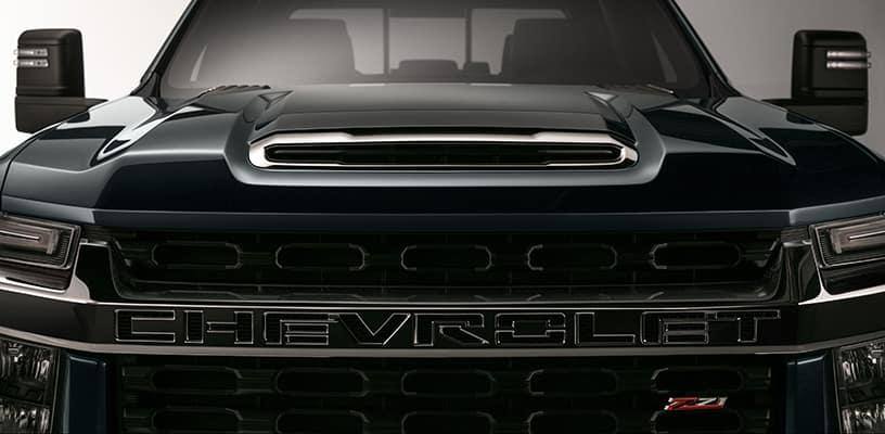 Chevrolet Silverado HD Front View