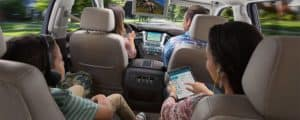 2018 Chevrolet Tahoe Interior with Children
