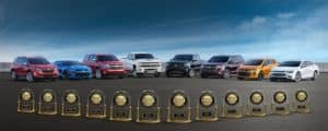 2018 Chevrolet Lineup with JD Power Associates Awards