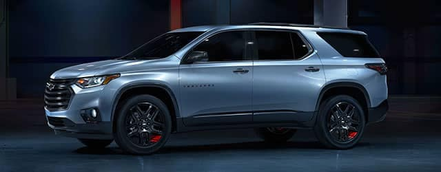 2018 Chevrolet Traverse Redline in Black