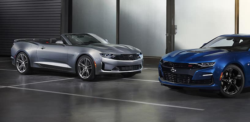 2019 Chevrolet Camaro RS and SS