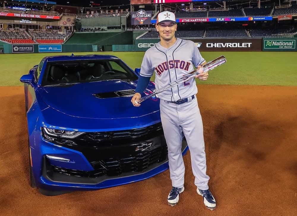2018 MLB All-Star Game MVP Earns 2019 Camaro SS