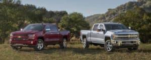 2018 Chevrolet Trucks