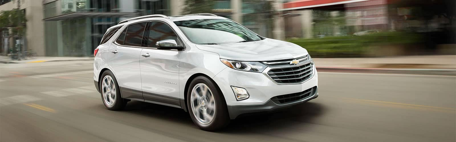 2019 Chevrolet Equinox Driving in White