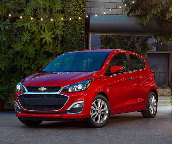 2018 Chevrolet Spark Parked in Driveway