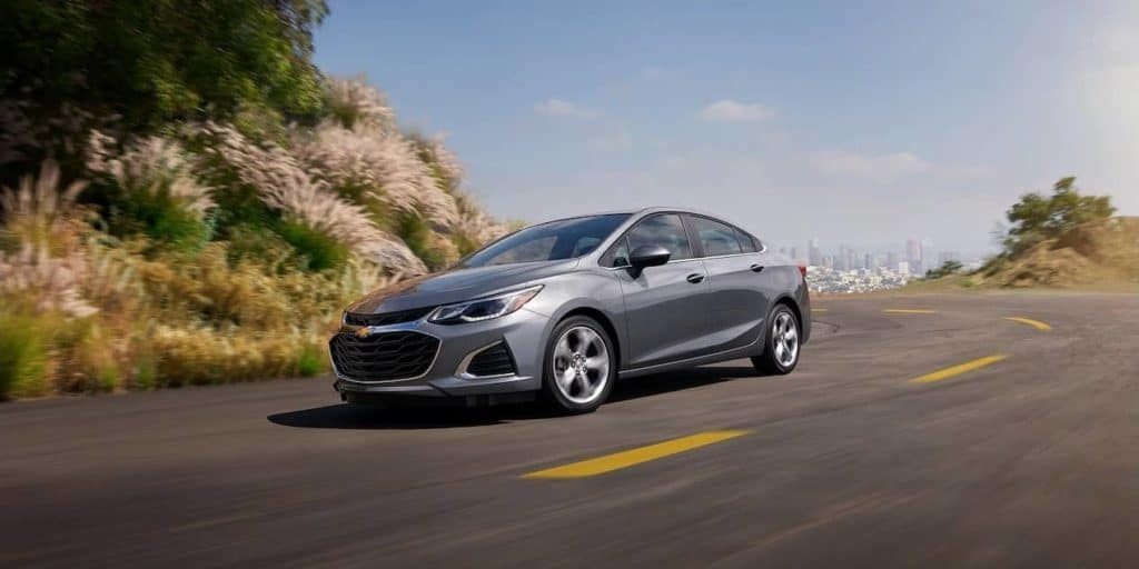 2019 Chevrolet Cruze Sedan on road