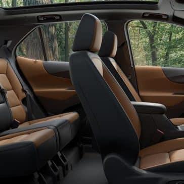 interior cabin of 2019 Chevrolet Equinox