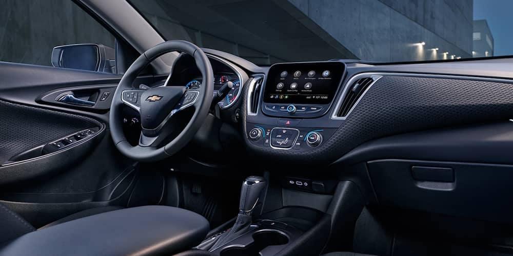 dashboard of 2019 Chevrolet Malibu