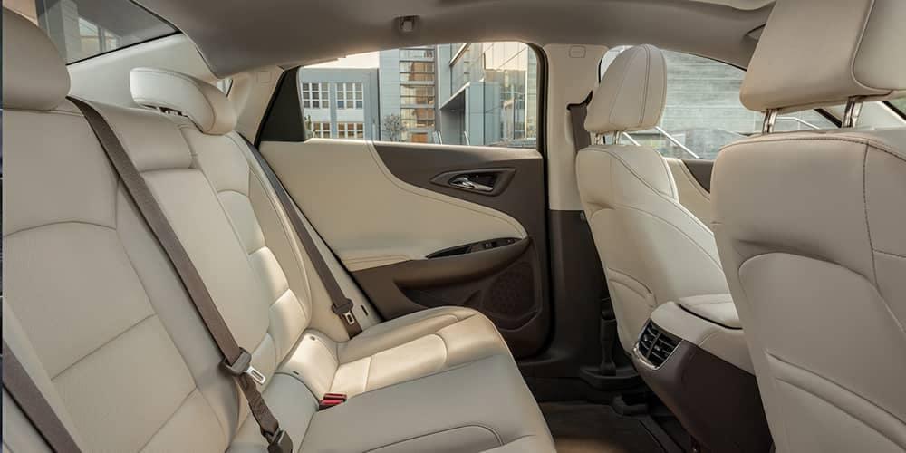 seating in 2019 Chevrolet Malibu