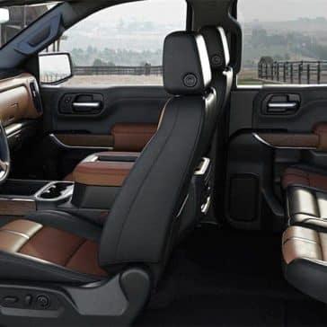2019 Chevrolet Silverado interior cabin