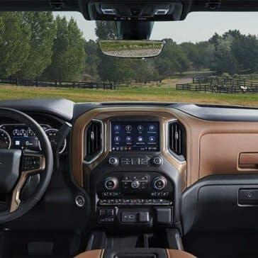 dashboard of 2019 Chevrolet Silverado