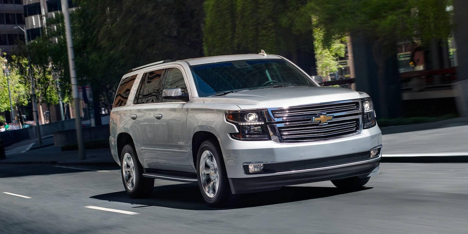 2019 Chevrolet Tahoe silver