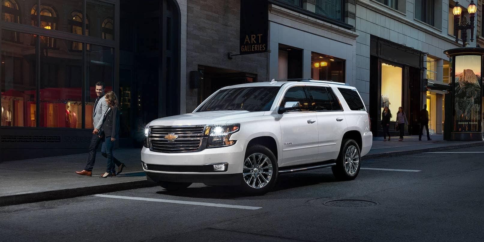 2019 Chevrolet Tahoe in parking space