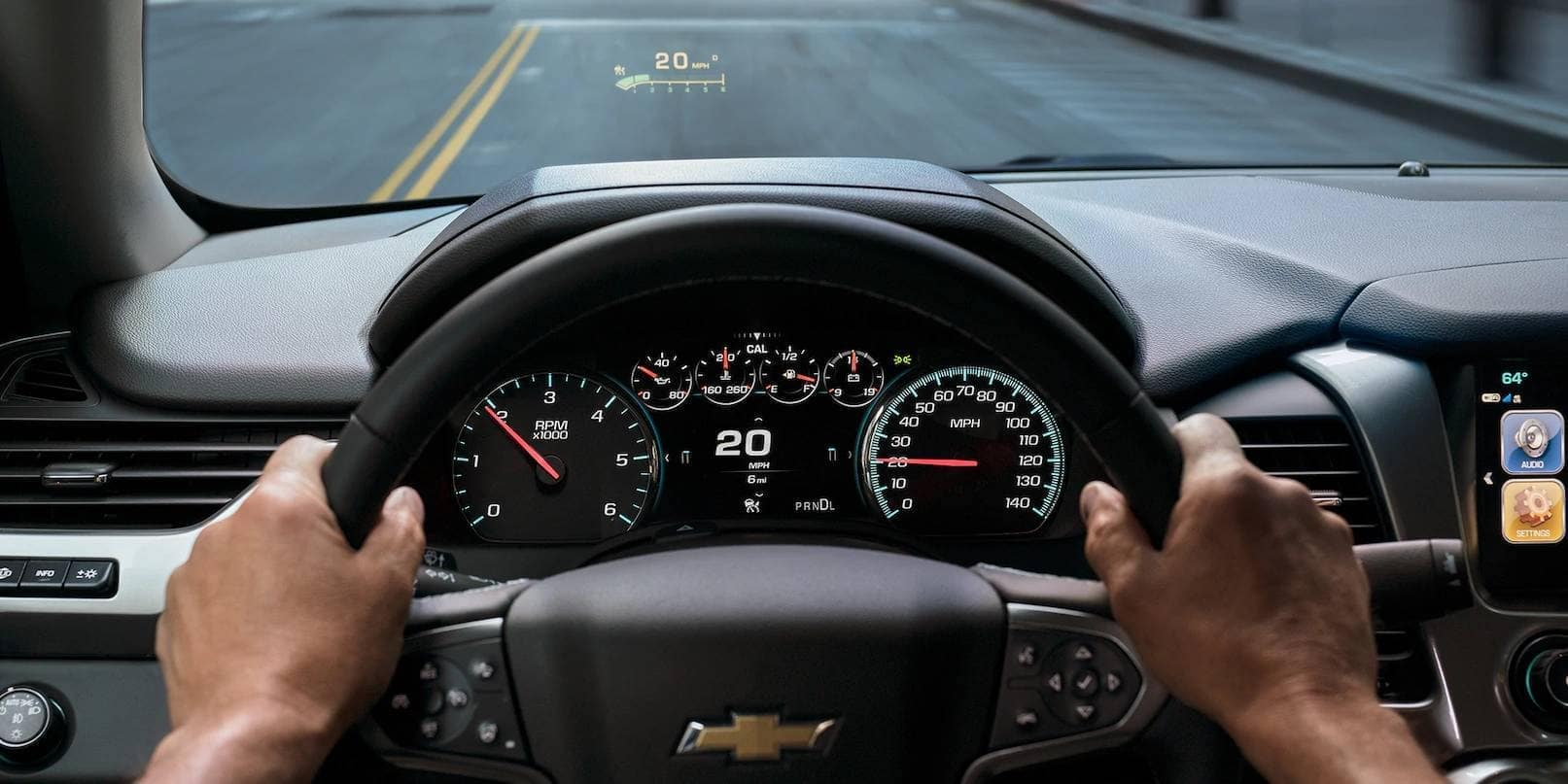 2019 Chevrolet Tahoe driver view