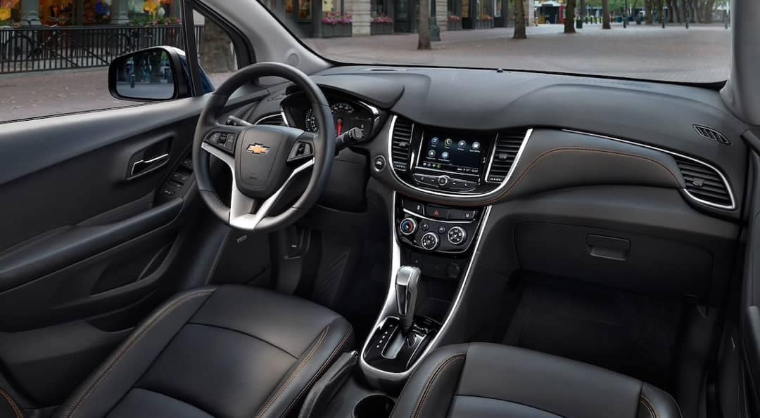 Dashboard of 2019 Chevrolet Trax