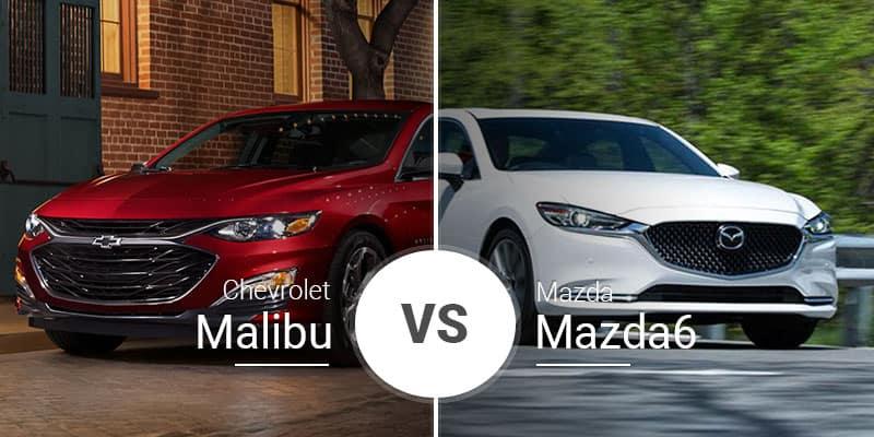 Chevy Malibu Vs  Mazda6: Midsize Model Matchup