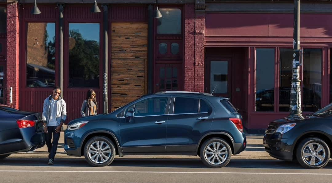 Parked 2019 Chevrolet Trax