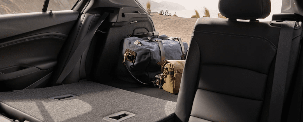 2019 Chevy Cruze Interior with Seats Folded Down