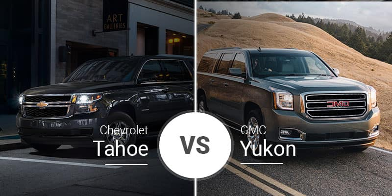 Chevy Tahoe Vs Gmc Yukon Big Suvs Siblings Battle It Out