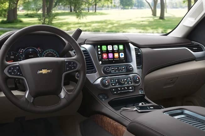 interior of 2019 Chevrolet Suburban