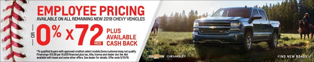 2018 New Chevy Vehicles