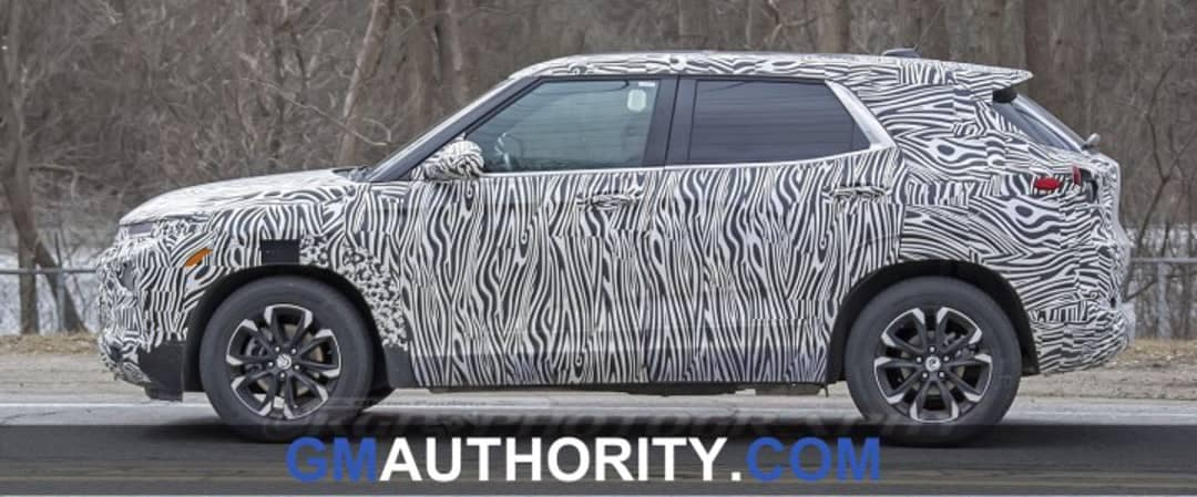2020 Chevrolet Trax Spy Shots 2