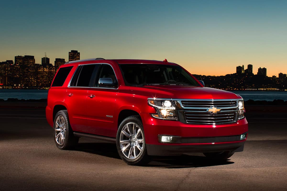 2020 Chevy Tahoe Overview