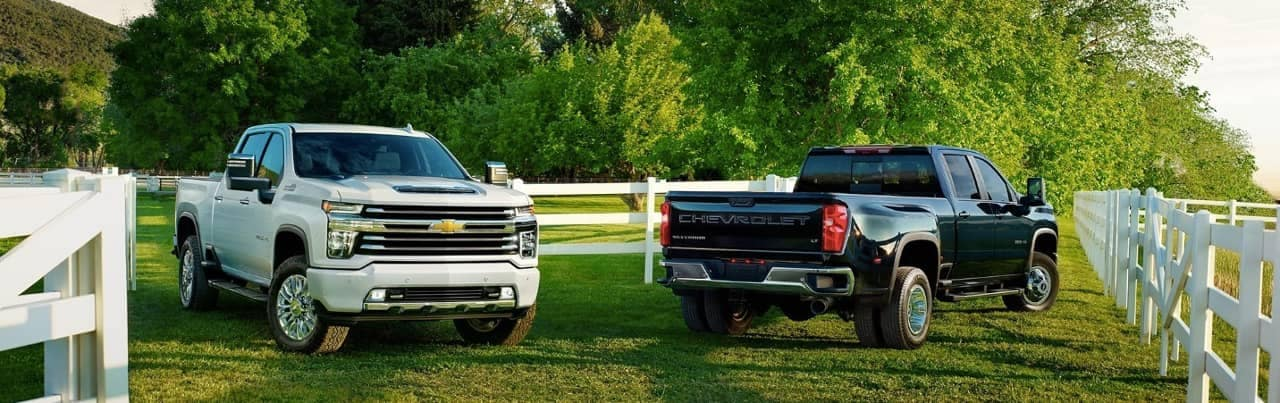 2020 Chevy Silverado Heavy-Duty trucks