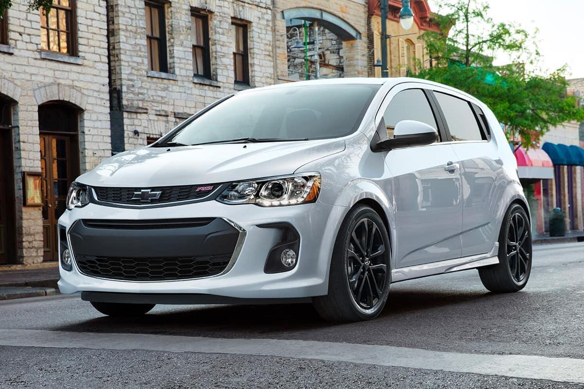 2020 Chevrolet Sonic Hatchback Vs 2020 Toyota Yaris Hatchback