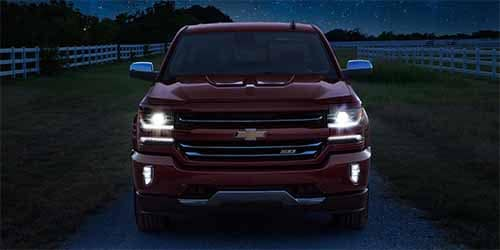 Chevrolet Silverado Headlights