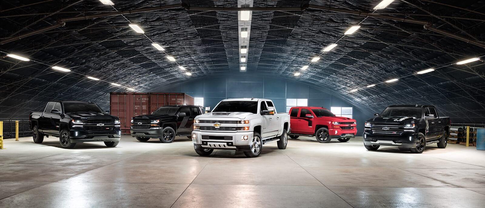 Chevrolet Silverado Special Editions