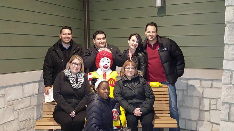 Group Photo with Ronald