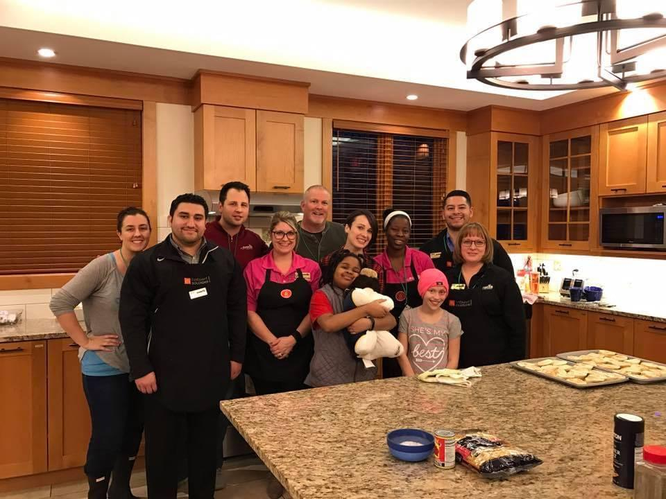 Thursday Group in Kitchen