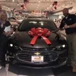 New Malibu bought at Sunrise Chevrolet