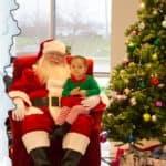Sunrise Chevrolet Santa with Child