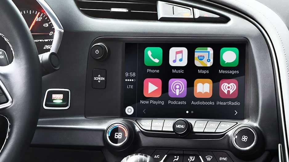 Technology Features of the New Chevrolet Corvette at Garber in Chicago, IL