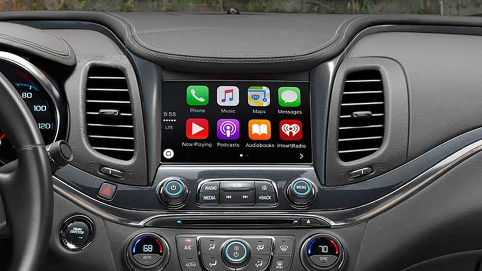 Technology Features of the New Chevrolet Impala at Garber in Chicago, IL