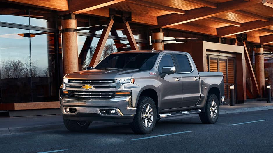 Exterior Features of the New Chevrolet Silverado at Garber in Chicago, IL