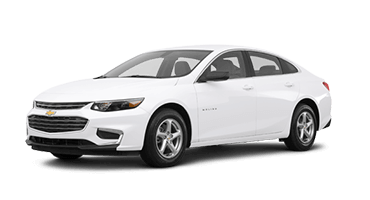 White Chevrolet Malibu