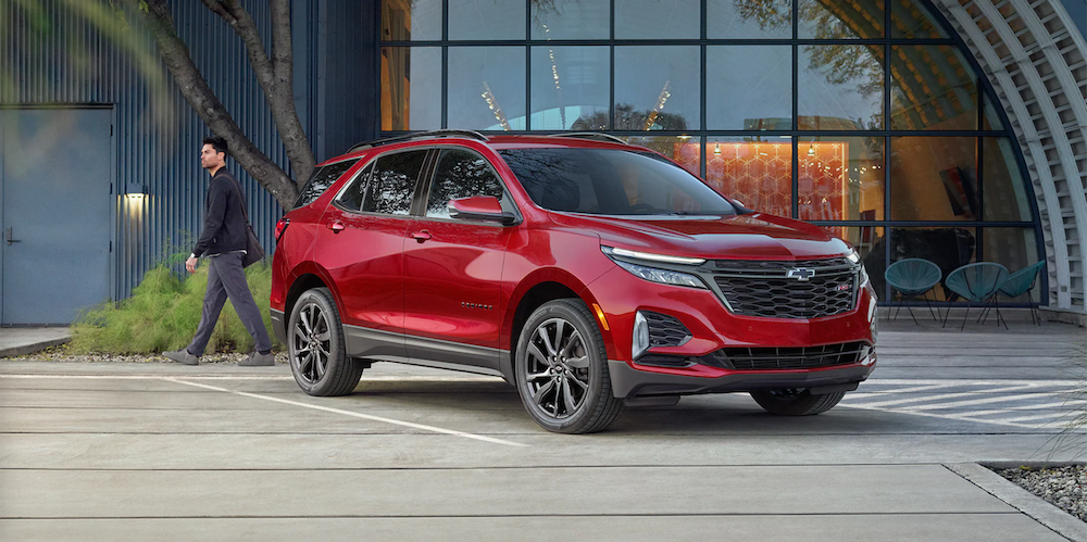 2022 chevy equinox red exterior