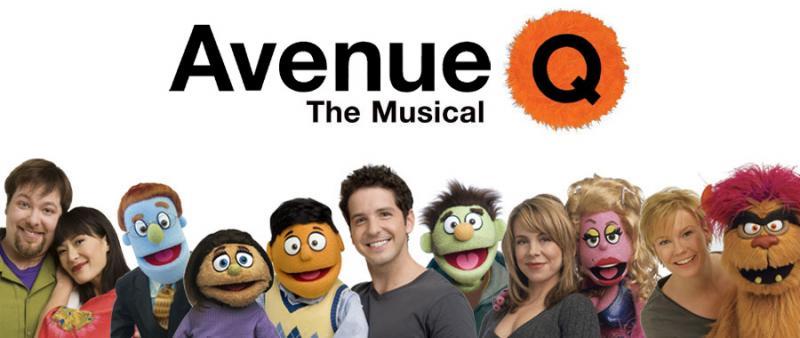 avenue q the musical hits racine wi