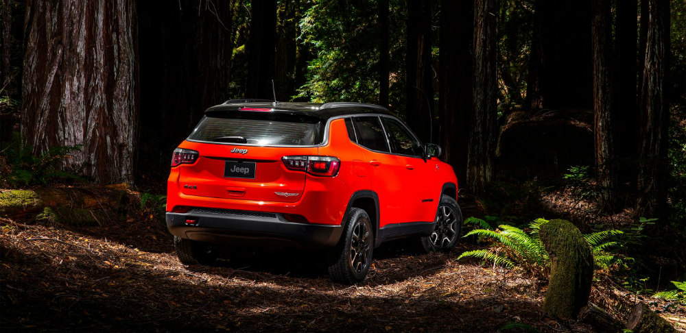 2017 /2018 Jeep Compass Trailhawk at Tacoma Dodge Chrysler Jeep Ram