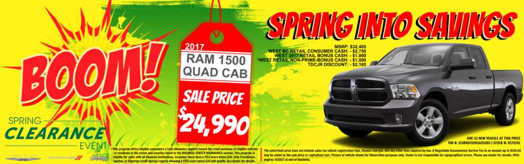 Ram 1500 Quad Cab on Sale at Tacoma Dodge, WA
