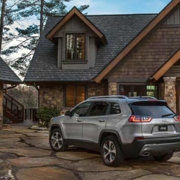 2019 Jeep Cherokee Exterior View Parked Next to Home