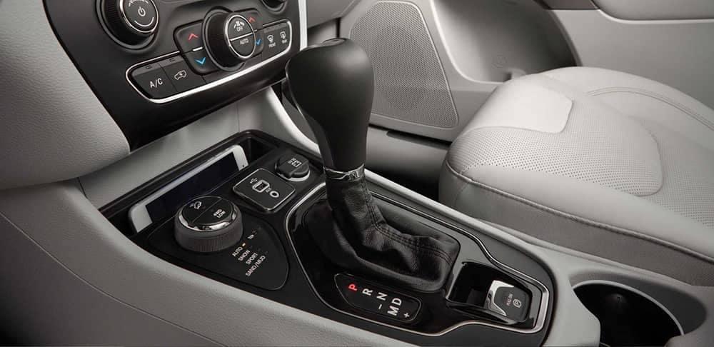 2019 Jeep Cherokee Interior Gear Selector View