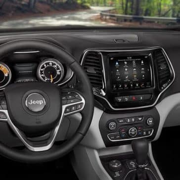 2019 Jeep Cherokee Interior Dashboard View