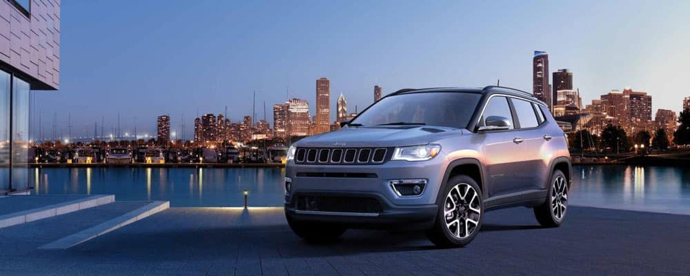 2019 Jeep Compass Parked Outside
