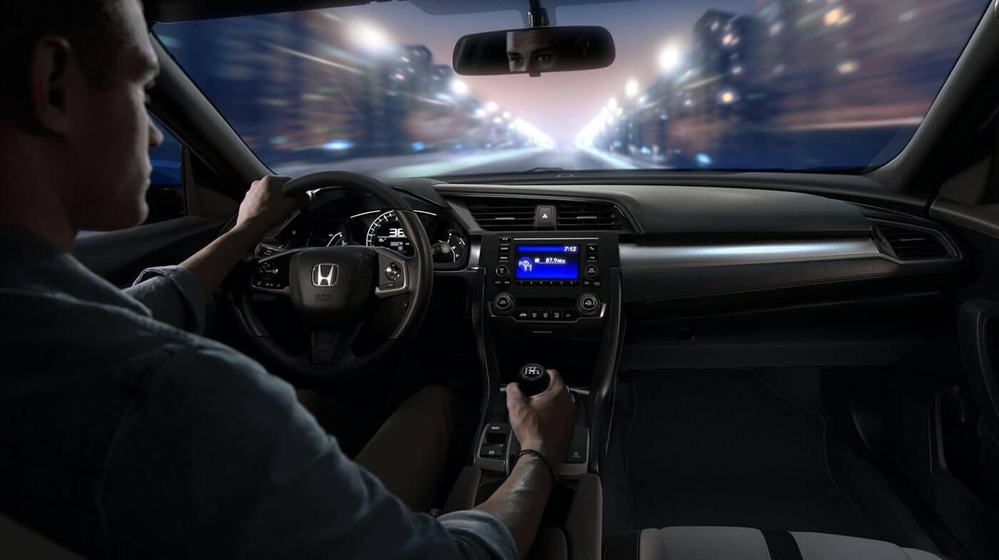 Honda Civic Coupe Interior