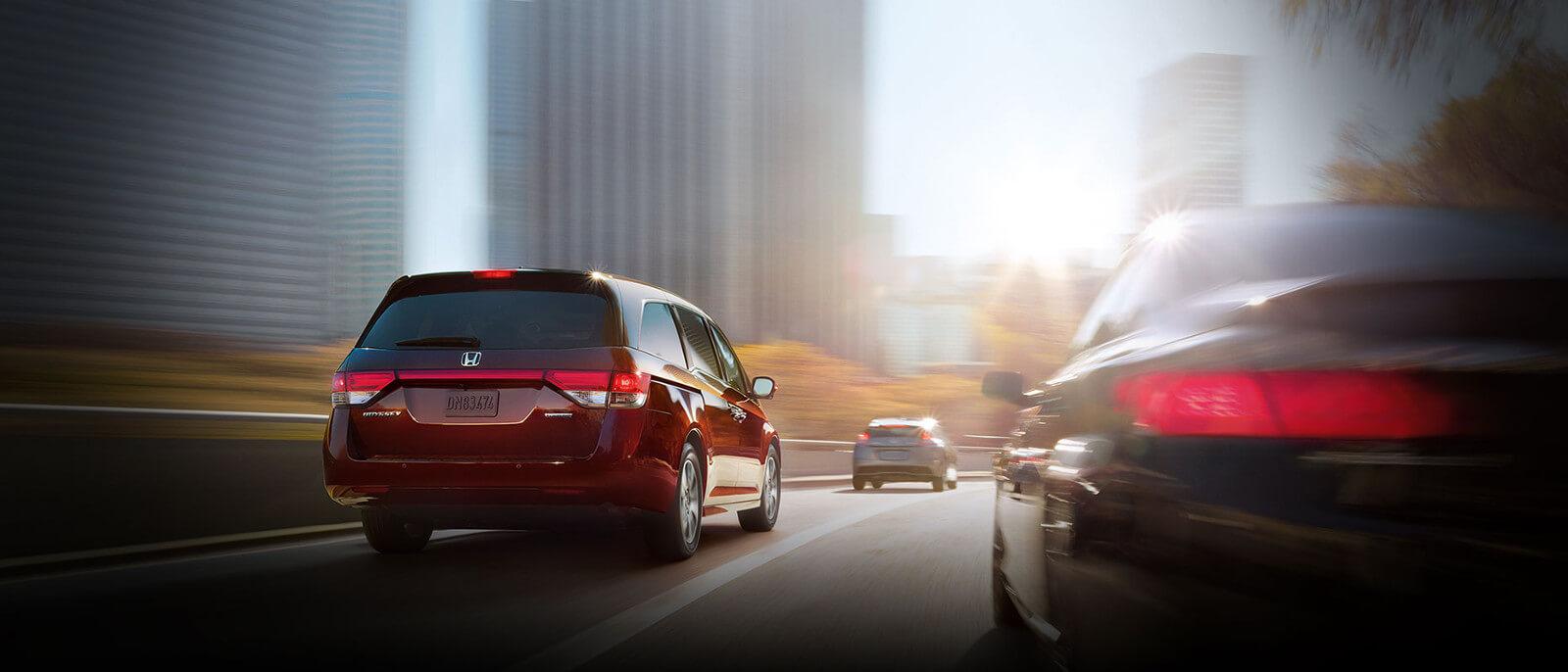 2017 Honda Odyssey rear exterior