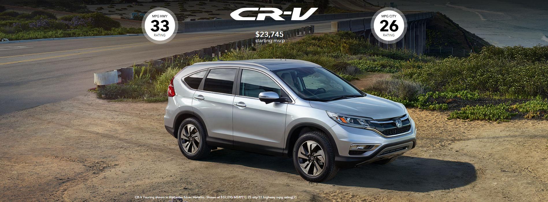 2016 Honda Crv Trim Level America S Favorite Compact Suv